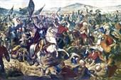 Косовская битва. Художник Адам Стефанович. 1870